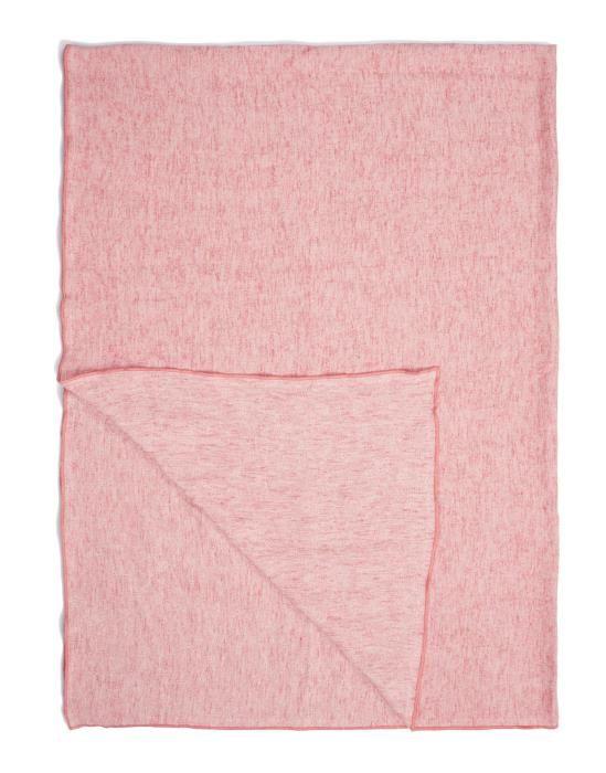Marc O'Polo Arez Roze Plaid 150 x 200 cm