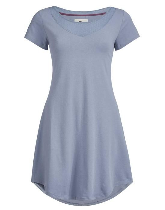 ESSENZA Arine Faded Blue Nachtjapon XS