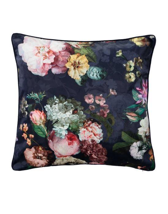 ESSENZA Fleur Nightblue Sierkussen 50 x 50 cm