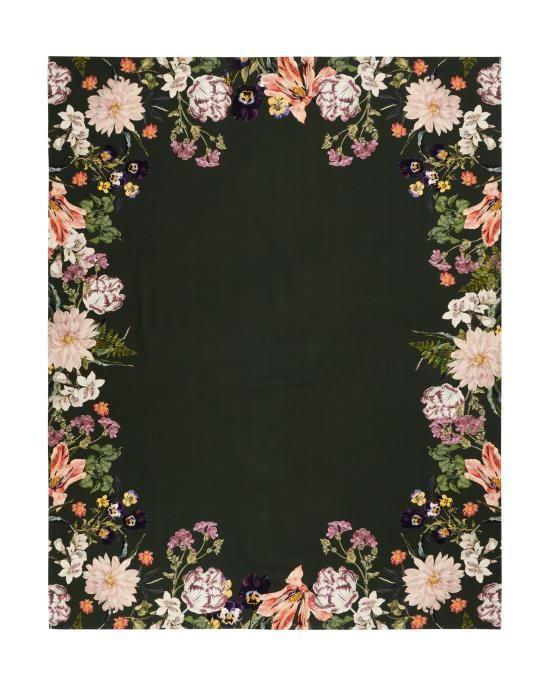 ESSENZA Gallery Donkergroen Tafelkleed 140 x 180 cm