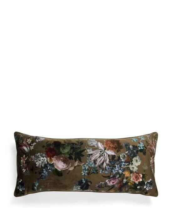 ESSENZA Isabelle Donkerbruin Cushion large 40 x 90 cm