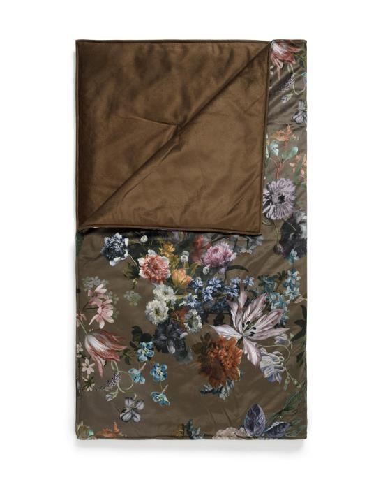 ESSENZA Isabelle Darkest brown Plaid 135 x 170 cm