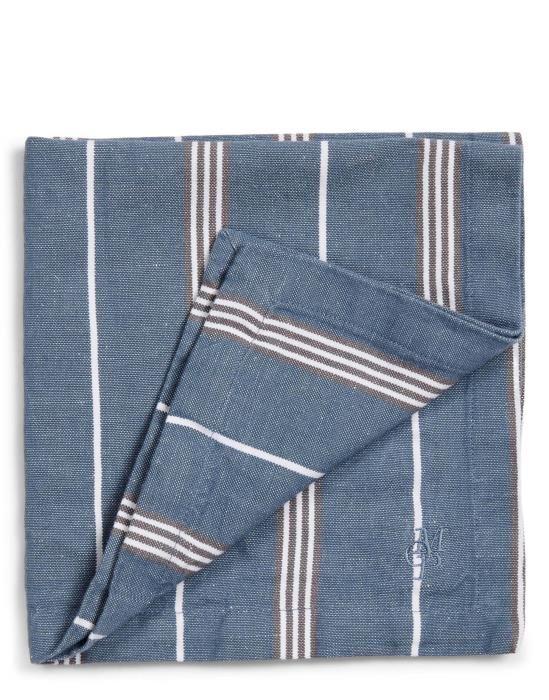 Marc O'Polo Jona Smoke blue Servet 45 x 45 cm
