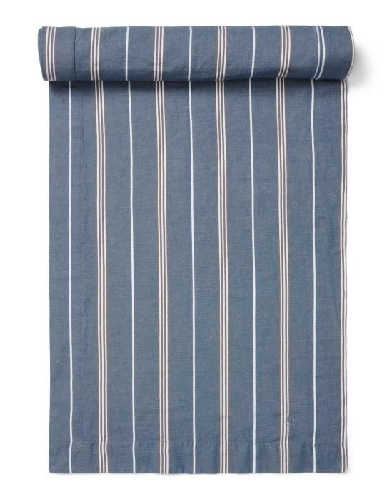 Marc O'Polo Jona Smoke blue Tafelloper 50 x 250 cm