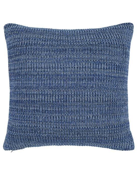 Marc O'Polo Kuara Blauw Sierkussen 50 x 50 cm