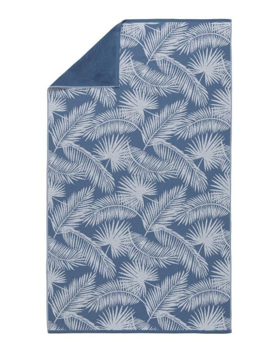 Marc O'Polo Kywa Blauw Hammamdoek 100 x 180 cm