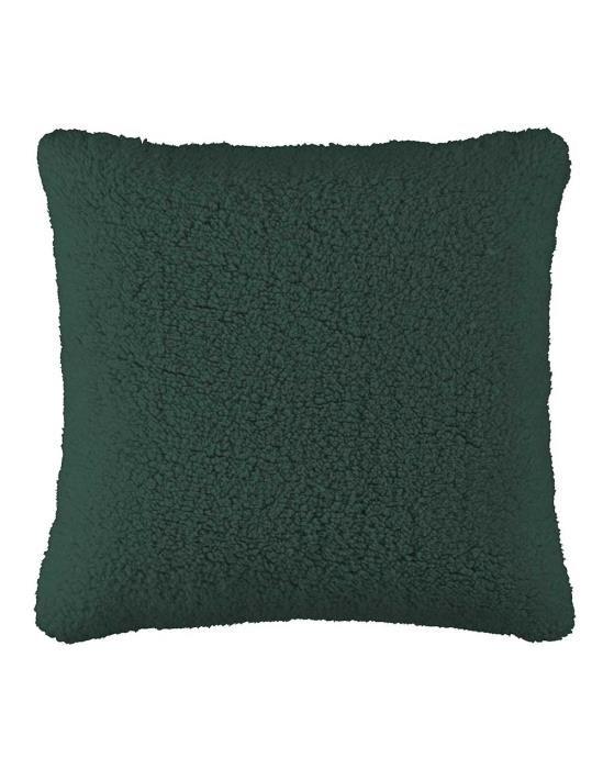 ESSENZA Lammy Pine green Sierkussen 50 x 50 cm