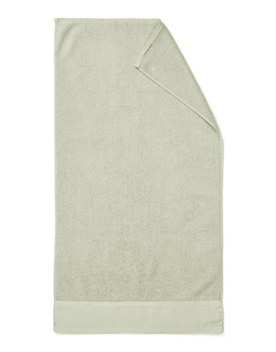 Marc O'Polo Linan Lichtgroen Handdoek 50 x 100 cm