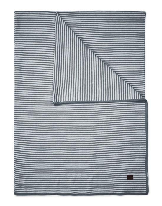 Marc O'Polo Linnea Grijs Plaid 130 x 170 cm