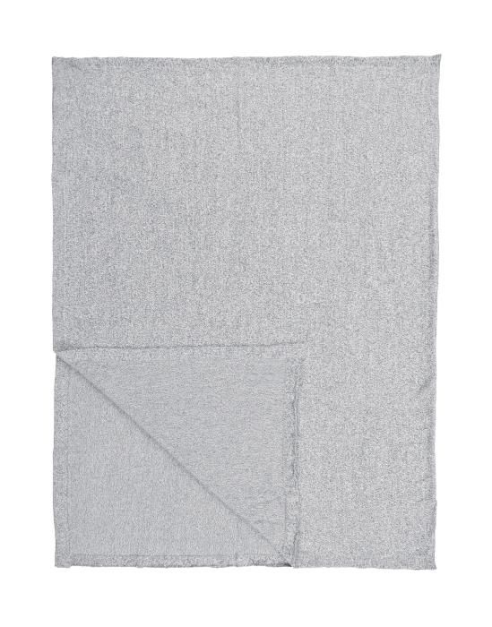Marc O'Polo Loma Grijs Plaid 130 x 170 cm