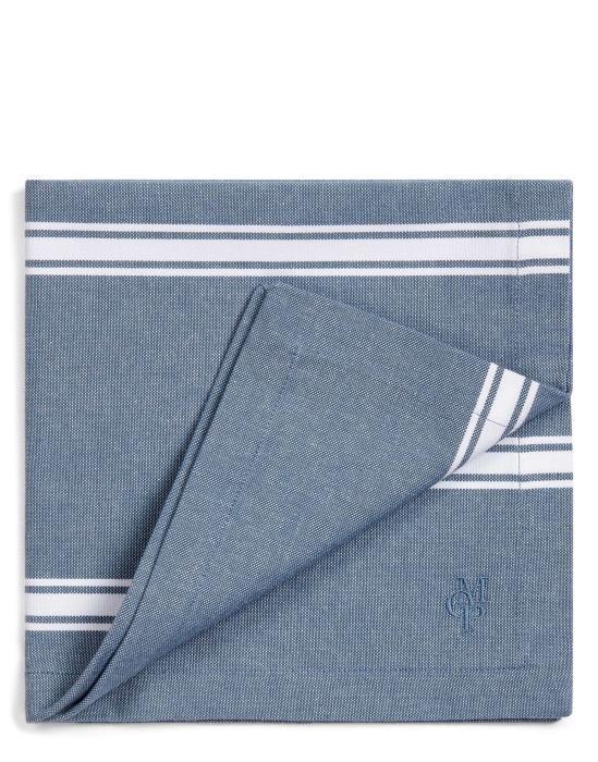 Marc O'Polo Lovon Smoke blue Servet 45 x 45 cm