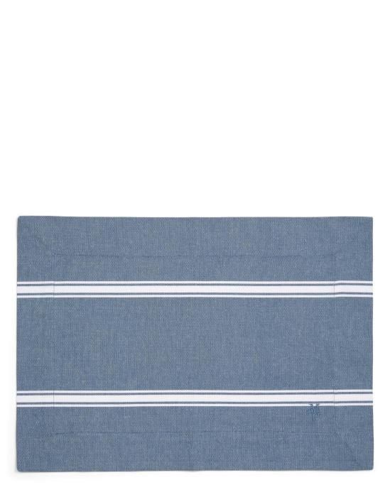 Marc O'Polo Lovon Smoke blue Placemat 33 x 45 cm
