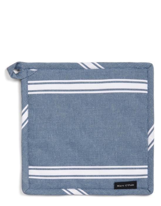 Marc O'Polo Lovon Smoke blue Pannenlap 22 x 22 cm