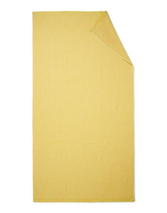 Marc O'Polo Lund Sunrise yellow Hammamdoek 100 x 180 cm