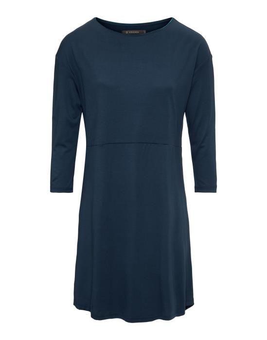 ESSENZA Lykke Uni Indigo blauw Nachthemd 3/4 mouw XS