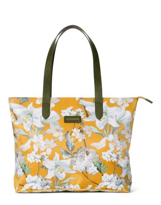 ESSENZA Lynn Rosalee Mosterdgeel Shopper bag One Size