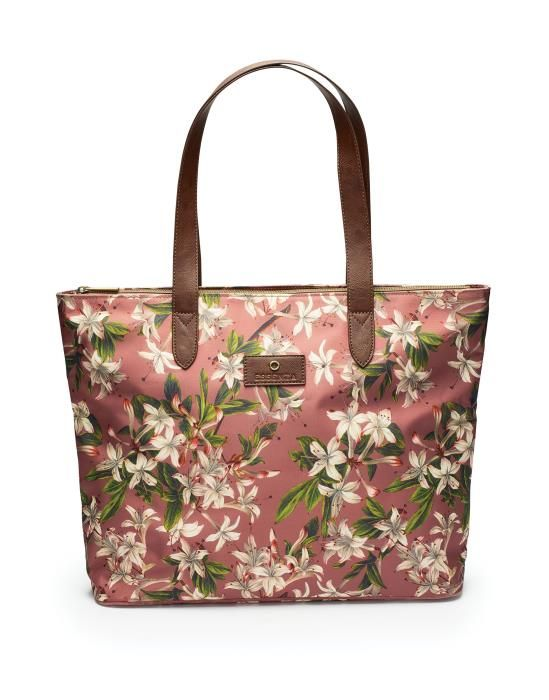 ESSENZA Lynn Verano Dusty rose Shopper bag One Size
