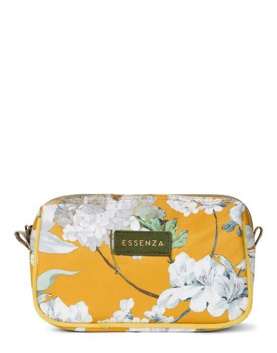 ESSENZA Megan Rosalee Mustard Cosmetic Bag