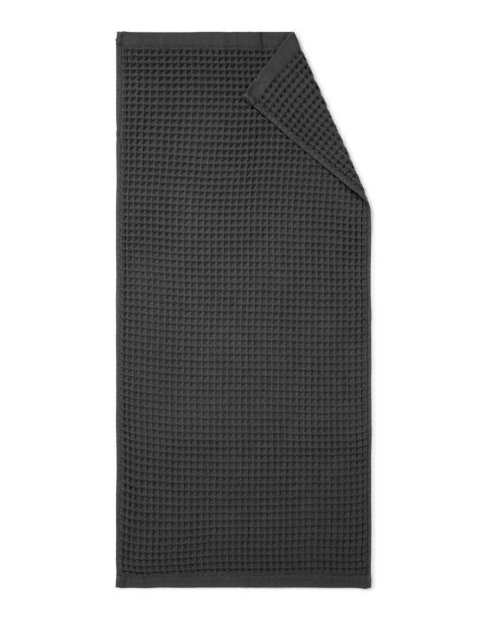 Marc O'Polo Mova Antraciet Handdoek 50 x 100 cm