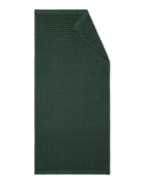 Marc O'Polo Mova Donkergroen Handdoek 70 x 140 cm