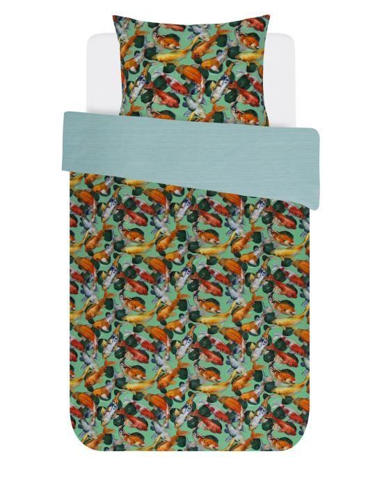 Covers & Co Riva Groen Dekbedovertrekset 140 x 220 cm