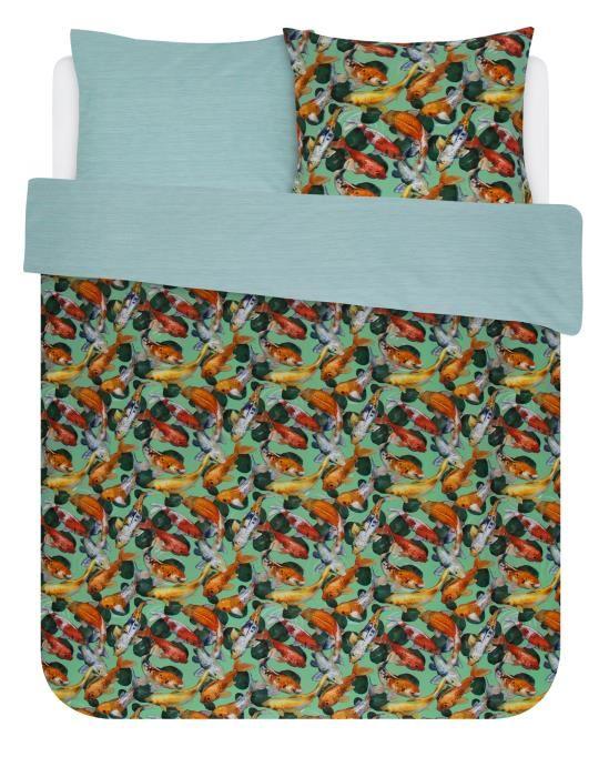 Covers & Co Riva Groen Dekbedovertrekset 240 x 220 cm