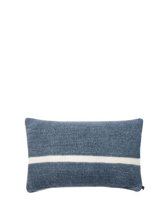 Marc O'Polo Rivar Misty Blue Sierkussen 30 x 50 cm