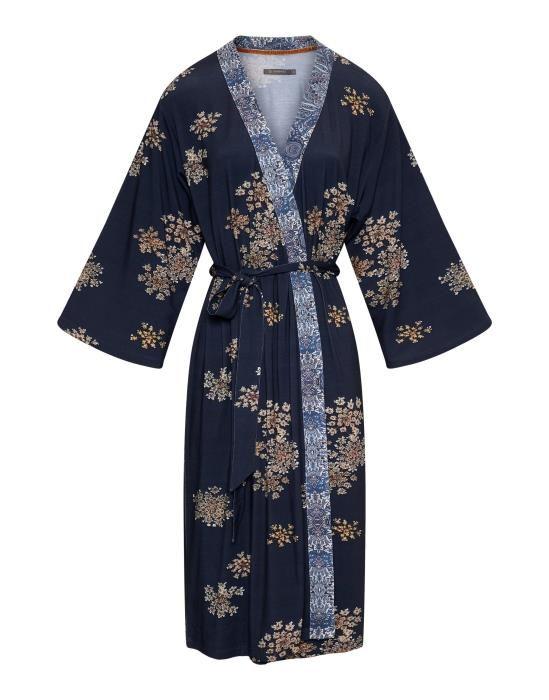 ESSENZA Sarai Lauren Boheme Indigo blauw Kimono XS