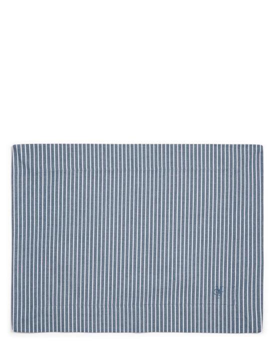 Marc O'Polo Tentstra Smoke blue Placemat 33 x 45 cm