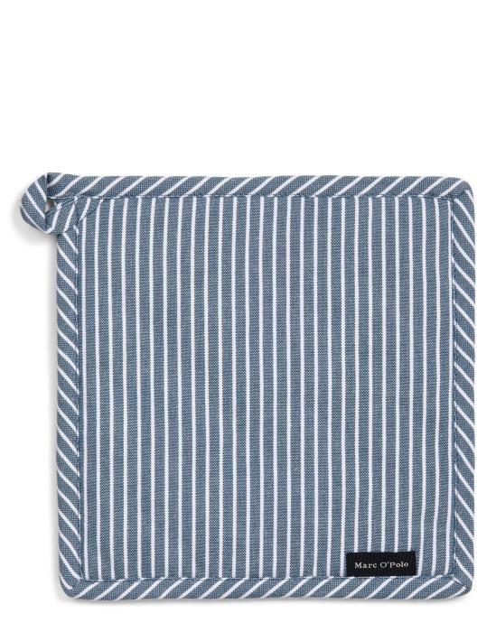 Marc O'Polo Tentstra Smoke blue Pannenlap 22 x 22 cm