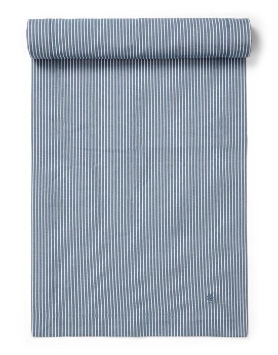 Marc O'Polo Tentstra Smoke blue Tafelloper 50 x 250 cm