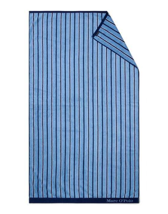 Marc O'Polo Verta Blauw Strandlaken 100 x 180 cm