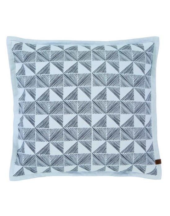 Marc O'Polo Vesa Indigo blauw Sierkussen 45 x 45 cm