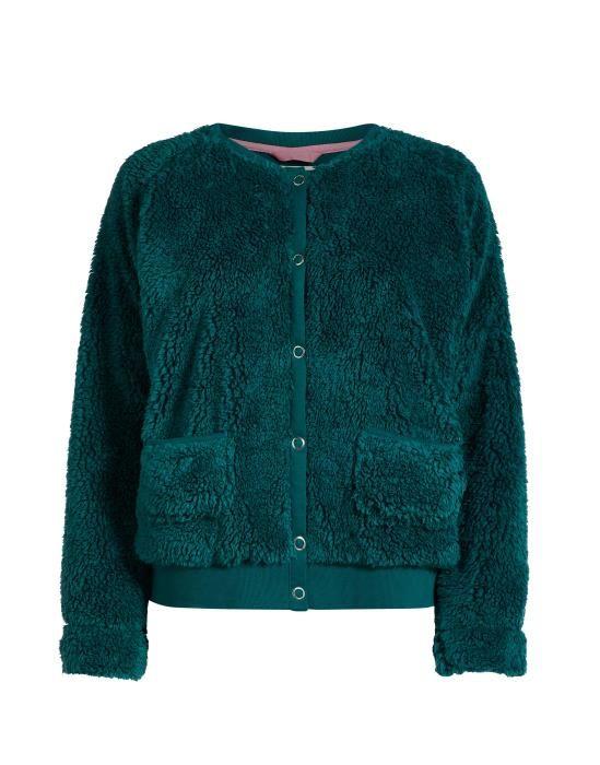 ESSENZA Vic lammy Emerald Vest S