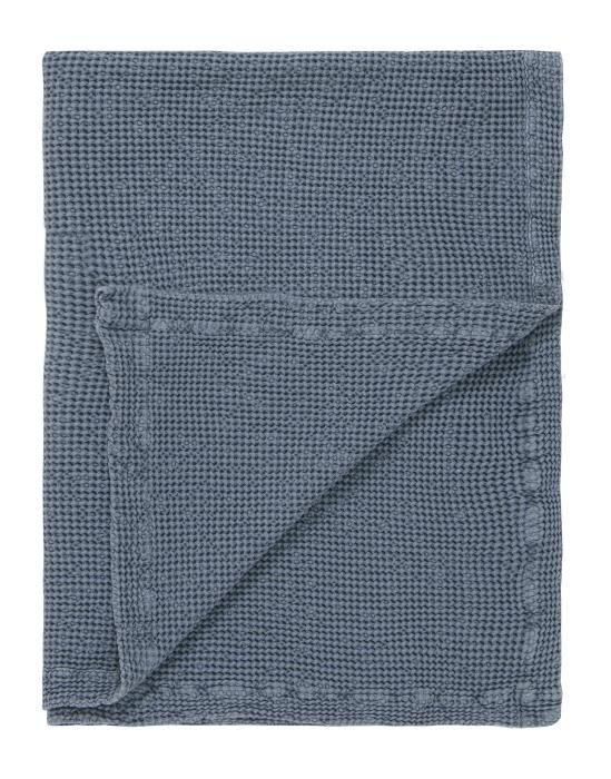 Marc O'Polo Viron Blauw Plaid 130 x 170 cm