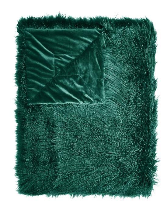 ESSENZA Vita Pine green Plaid 140 x 200 cm