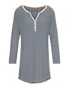 ESSENZA Acacia Striped Indigo Blue Nachthemd XS