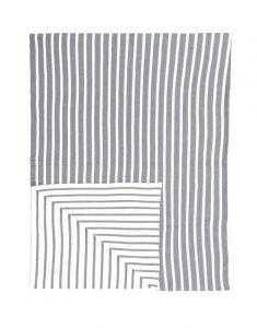 Marc O'Polo Arre Grau Plaid 130 x 170 cm