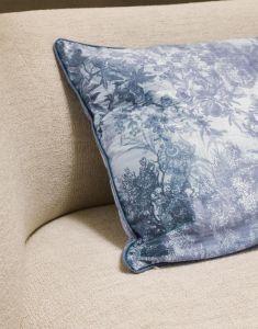 ESSENZA Aurelie Ijsblauw Sierkussen 50 x 50 cm