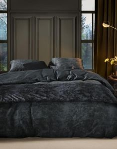 ESSENZA Aurelie Nightblue Dekbedovertrekset 240 x 220 cm