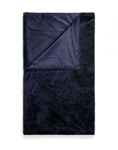 ESSENZA Aurelie Nightblue Plaid 135 x 170 cm