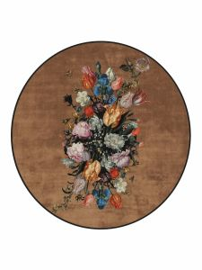ESSENZA Beautiful Bouquet Bruin Vloerkleed klein 90 cm