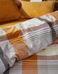 ESSENZA Billie Senfgelb Dekokissen 30 x 50 cm