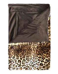 ESSENZA Bory Furry Braun Plaid 150 x 200 cm