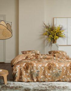 ESSENZA Charlize Cashew Dekbedovertrekset 240 x 220 cm