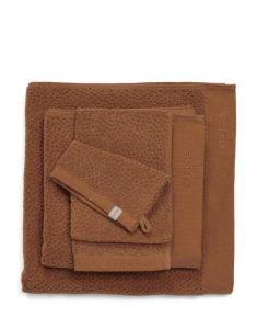ESSENZA Connect Organic Breeze Leather brown Handdoek 60 x 110 cm