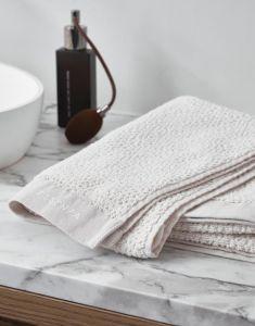 ESSENZA Connect Organic Breeze Towel Set Wit