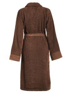 ESSENZA Connect Organic Uni Leather brown Badjas M