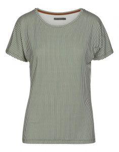 ESSENZA Ellen Striped Lauriergroen Top korte mouw XL