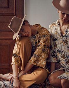 ESSENZA Erin Charlize Vanilla Nachthemd 3/4 mouw XL